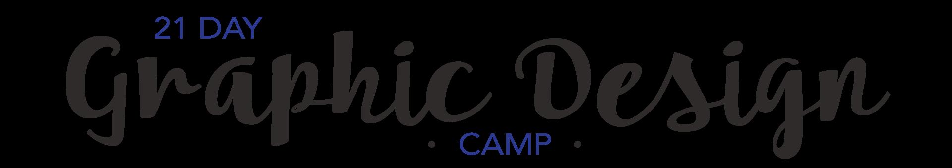 21 Day Graphic Design Camp